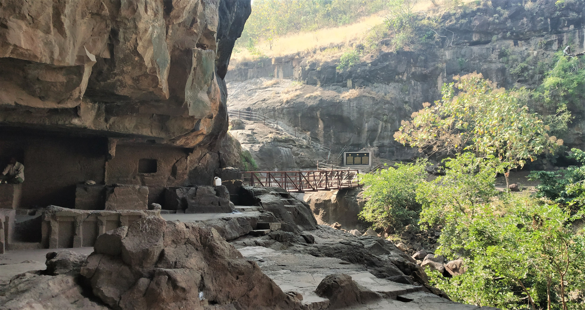 Guided Tour to Pitalkhora Caves